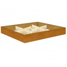 12 Inch Oak Riser With Center Supports Available in W. King, E. King, Queen and Super Single