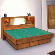 Marathon Free Standing Headboard Waterbed & Casepieces Available in W. King, E. King, and Queen