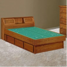 Venetian Bookcase Headboard Waterbed & Casepieces Available in King and Queen