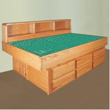 Oak Youthbed with La Jolla Casepieces Available in Super Single